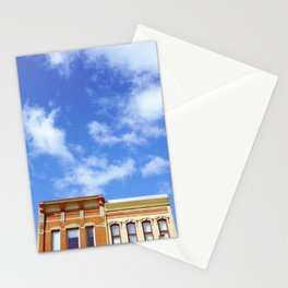 """""""you're standing on our streets"""" Stationery Cards"""