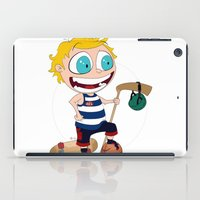 sport iPad Cases featuring Sport star by JoshEssel