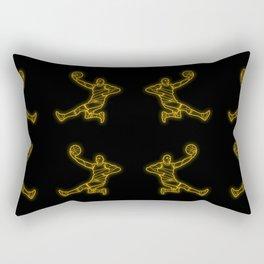 Basketballer Rectangular Pillow