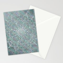 Iridescent Mandala Stationery Cards