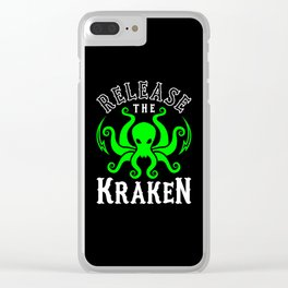 Release The Kraken Clear iPhone Case