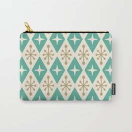 Mid Century Modern Atomic Triangle Pattern 105 Carry-All Pouch