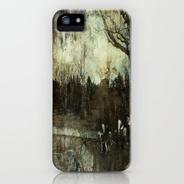Hunting Kangaroo's iPhone Case