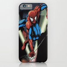 Gritty Spidey Swing iPhone 6s Slim Case