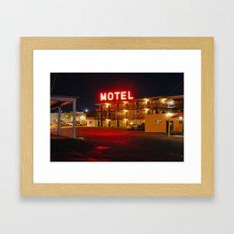 Beltway Motel Framed Art Print