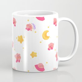 Peachy Kirby Pattern Coffee Mug