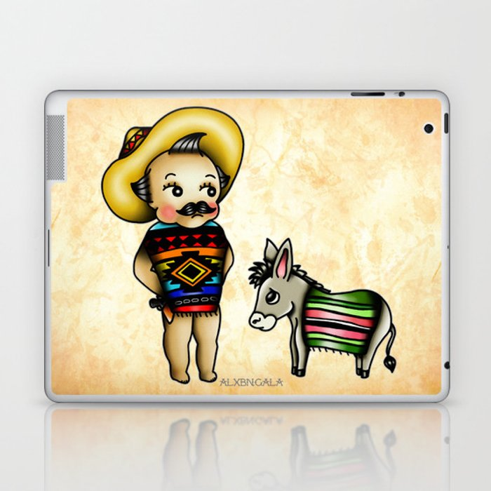 Mexican Kewpie Laptop & iPad Skin