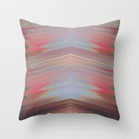 motorcycle Throw Pillows featuring Motorcycle by Joshua Cade