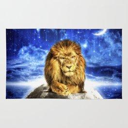 Grumpy Lion Rug