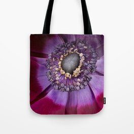 Anemone Coronaria - Macro Tote Bag
