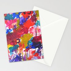 Floral Drip Stationery Cards