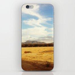 Desert Skyline iPhone Skin