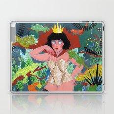 The Lizard Queen Laptop & iPad Skin