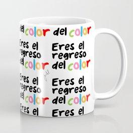 El regreso del color Coffee Mug