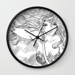 Queen of the Amazons 02 Wall Clock
