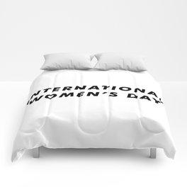 International Women's Day Aesthetic Comforters