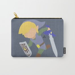 Toon Link(Smash)Silver Carry-All Pouch