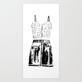 outfit Art Print