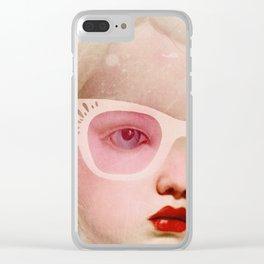 miss lemon Clear iPhone Case