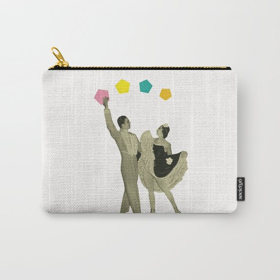 Throwing Shapes on the Dance Floor Carry-All Pouch
