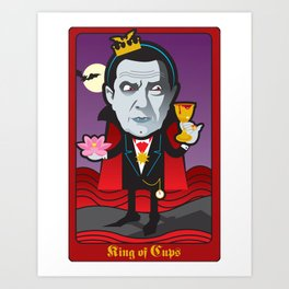King of Cups Art Print