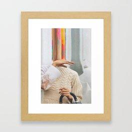 Bazaar #47 Framed Art Print