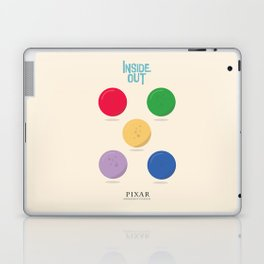 Inside Out - Minimal Movie Poster, animated movie, Laptop & iPad Skin