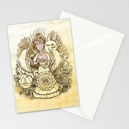 Soul Star Chakra - Witches of the Nine Worlds Stationery Cards