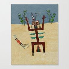 Healing Ceremony Canvas Print