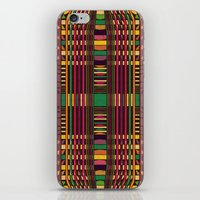 grid iPhone & iPod Skins featuring Grid by Glanoramay