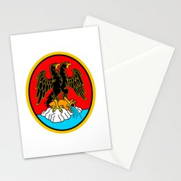 Coat of Arms of Rijeka  Stationery Cards
