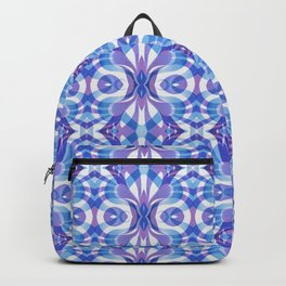 Floral Geometric Abstract G288 Backpack