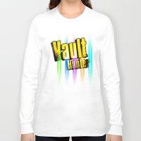 borderlands Long Sleeve T-shirts featuring Borderlands Tribute -  Vault Hunter by ReverendRyu