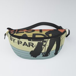 Golf Best Dad Fanny Pack