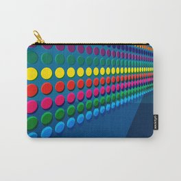Dotted Railway Carry-All Pouch