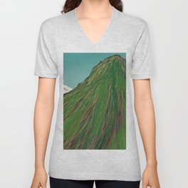 Summit Of An Inactive Volcano Unisex V-Neck