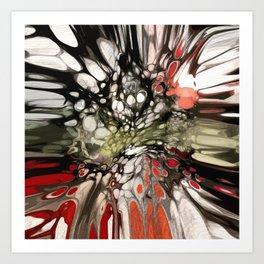 Burst II Art Print