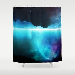 A sudden Cold Gasp of Fresh Air Shower Curtain