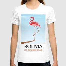 Bolivia Flamingo vacation print T-shirt
