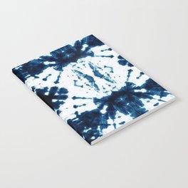 Velvet Shibori Blue Notebook