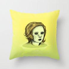Monotone V Throw Pillow