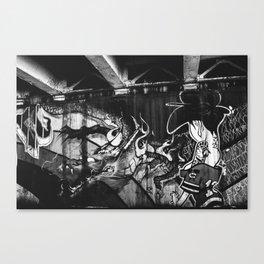 Chicago Grafitti I Canvas Print