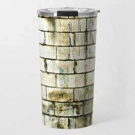 All The Bricks In The Wall Travel Mug