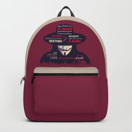 Enunciation of Truth // Comic, Anarchy, Revolution, Anonymous Backpack