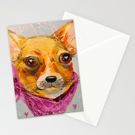 In love with friend Stationery Cards