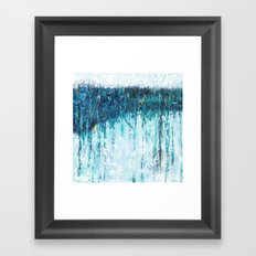 Blue Horizon Framed Art Print