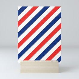 Barber Stripes Mini Art Print