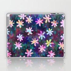 Montauk Daisy - Night Laptop & iPad Skin