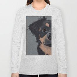 Mila the Carlin Pinscher Long Sleeve T-shirt