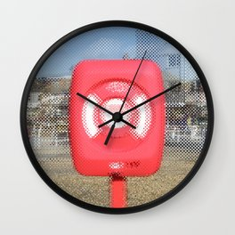 Lifebelt 02 Wall Clock